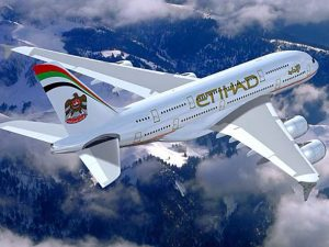 Abu Dhabi's Etihad Airways is hiring cabin crew