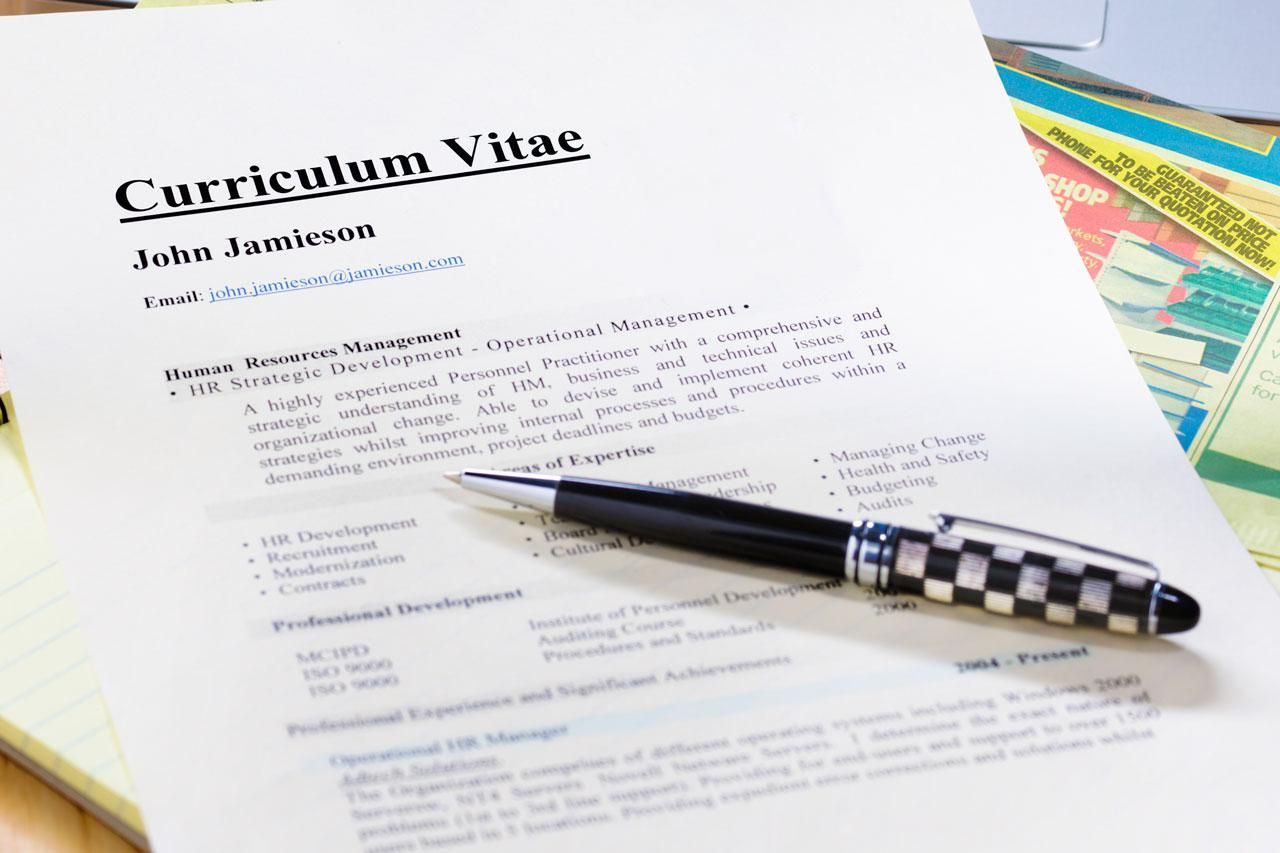 tips on writing a successful curriculum vitae  europass